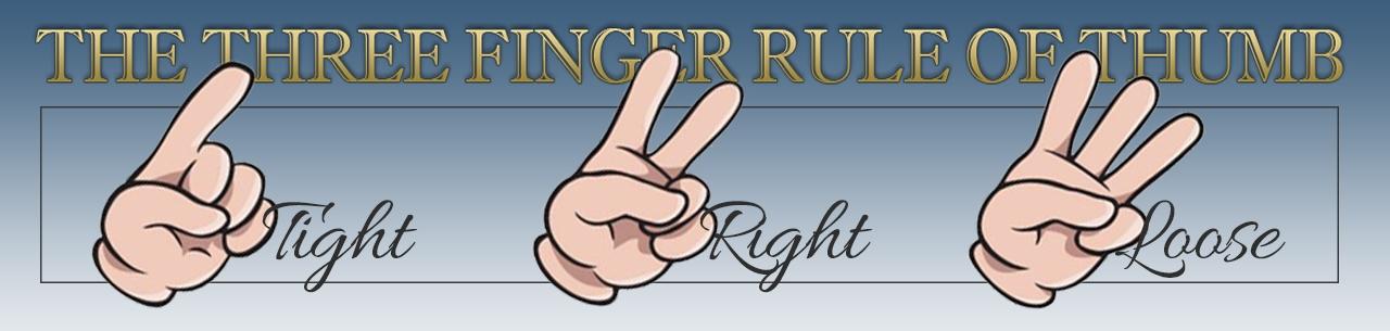 Three Finger Rule