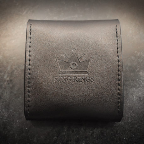 Cock Ring Leather Pouch